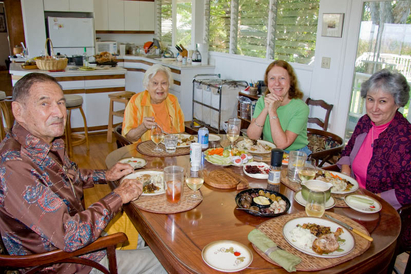 Last Thanksgiving with my parents
